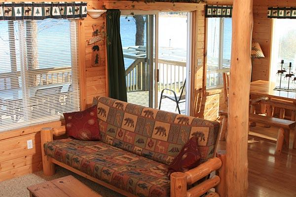 Mn Cabins Three Bedroom Cabin On Moose Lake Near Bemidji Mn